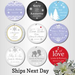 custom wedding favor tags