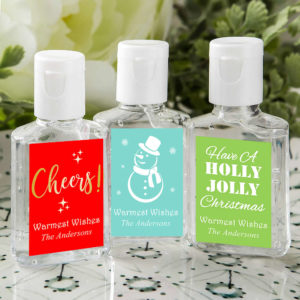 holiday hand sanitizers