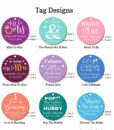 bridal shower tag designs 2