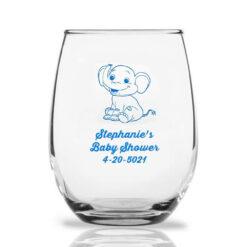 baby elephant wine glasses