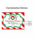customization options joy labels