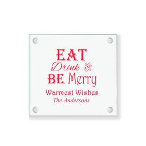 eat drink merry coasters