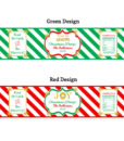 multi icon label designs