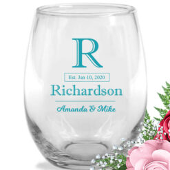last name initial wine-glasses