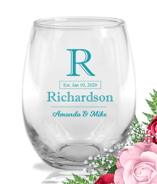 last name initial wine-glasses