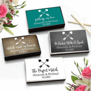 heart tribal arrows match boxes