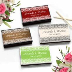 lace match boxes