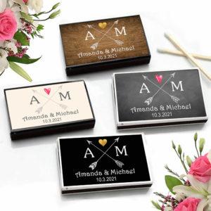 tribal arrows monograms match boxes